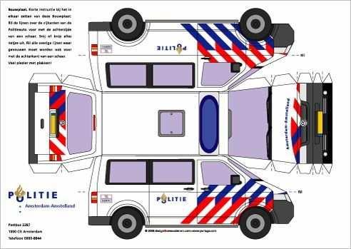 Begeleide Of Zelfstandige Activiteit Politie Auto