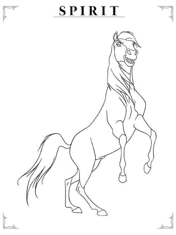 Pin Van Maud Op Draw Kleurplaten Paard Tekeningen Paarden