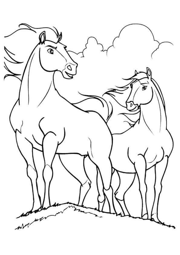 Pin Van Tamara Kerp Op Kleurplaat Paard Kleurplaten Kleurplaten