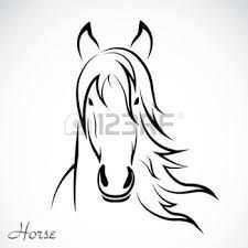 Afbeeldingsresultaat Voor Paardenhoofd Kleurplaat Horse Art