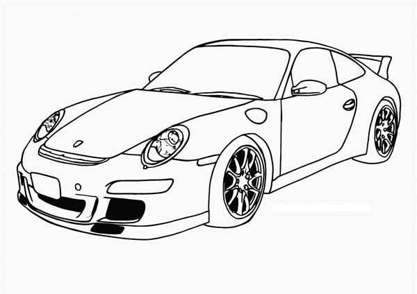 Porsche Coloring Pages Cars Coloring Pages Cool Coloring Pages