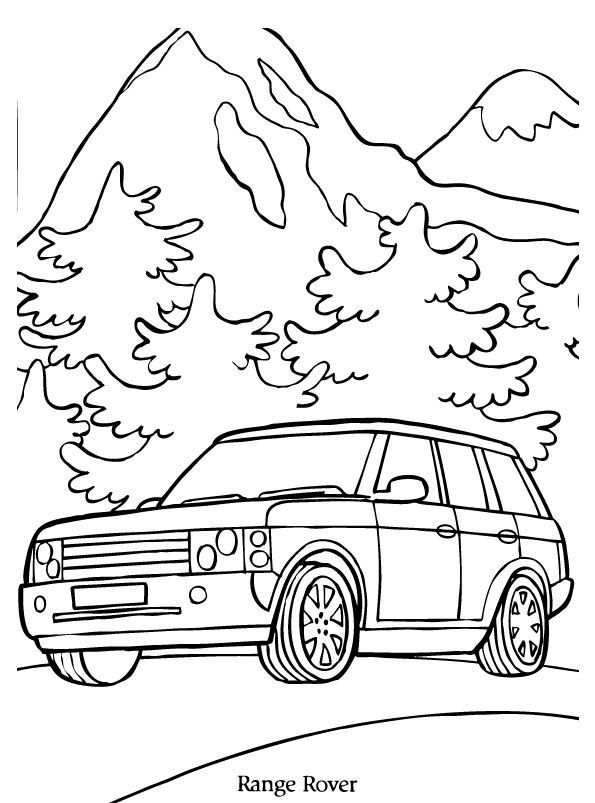 Print Range Rover Kleurplaat Coloring Pages Coloring For Kids