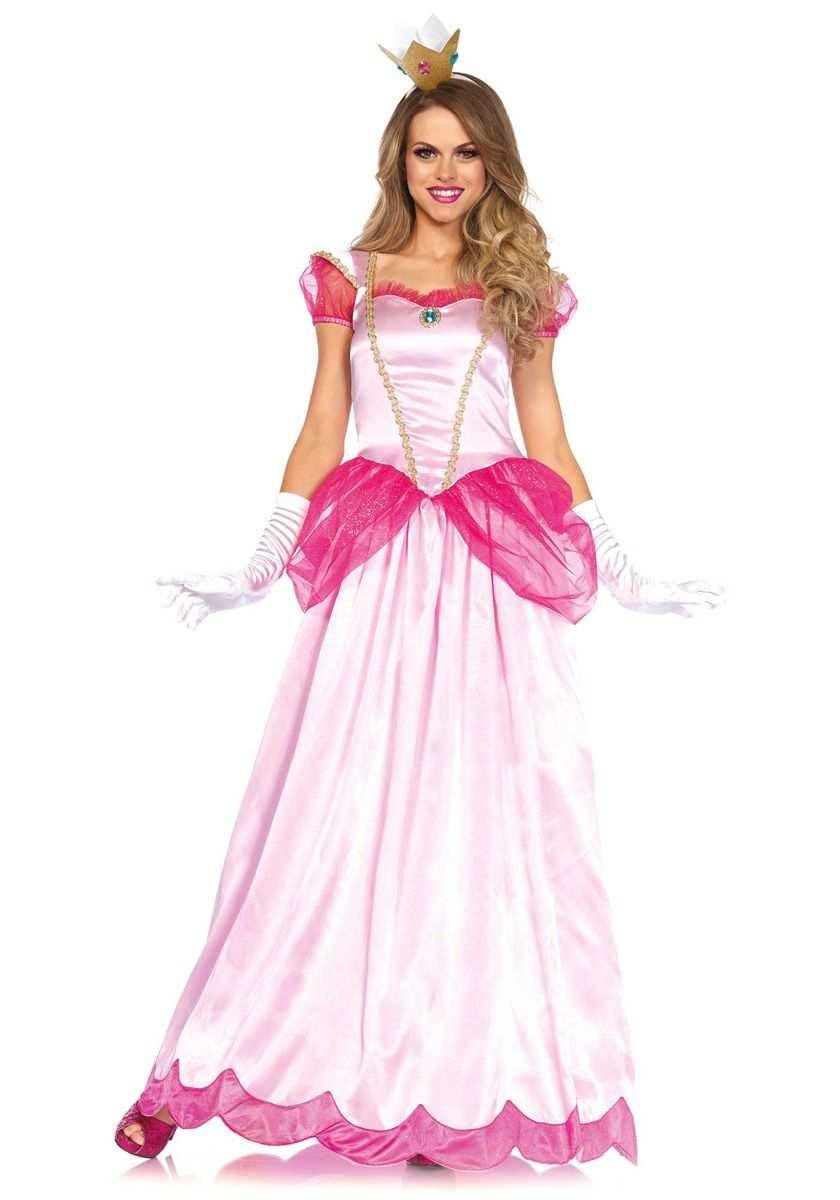 Classic Pink Princess Mooie Lange Prinsessen Jurk Ook Wel