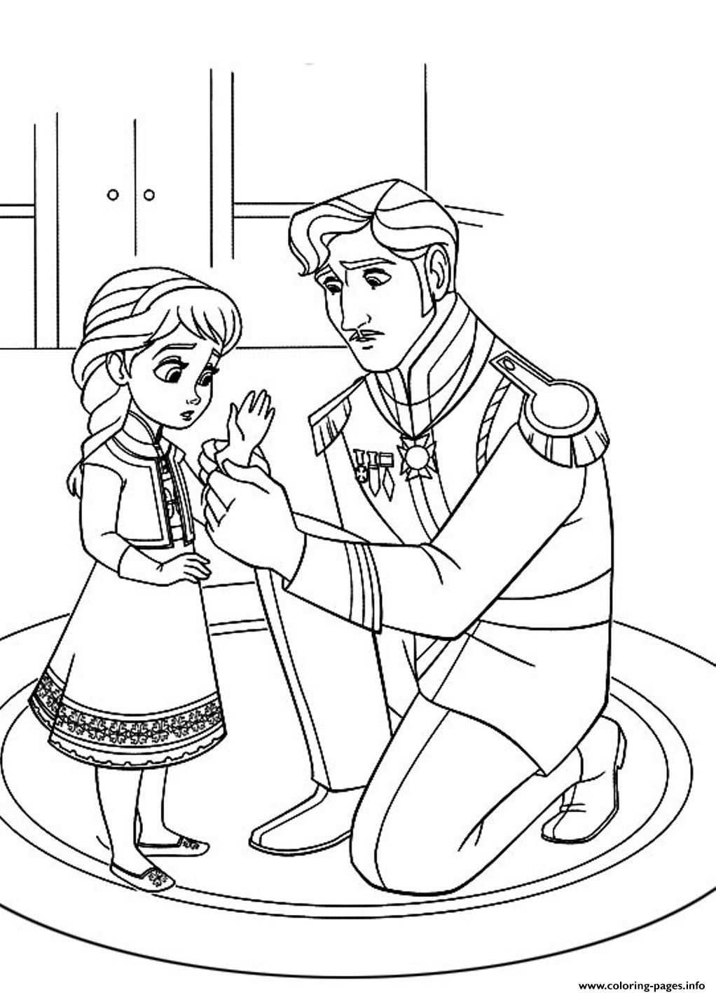 Print Free Frozen D500 Coloring Pages With Images Elsa