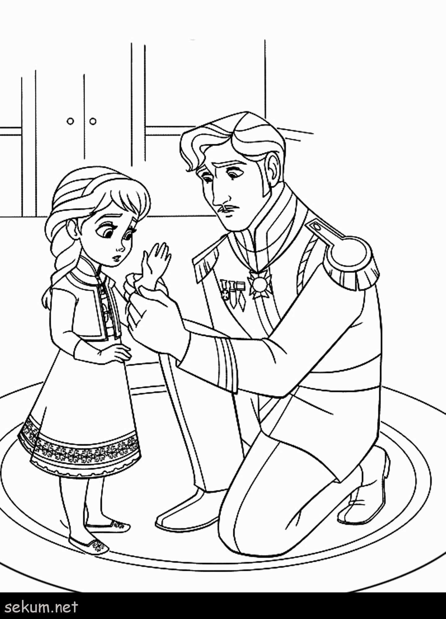 Free Frozen Coloring Sheets With Images Elsa Coloring Pages