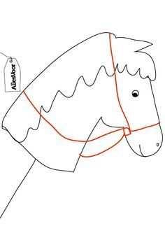 Afbeeldingsresultaat Voor Sjabloon Stokpaardje Kleurplaat