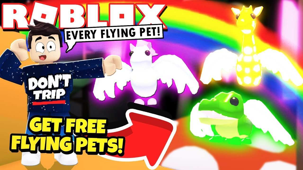 I Got Every Flying Pet In Adopt Me New Flying Potion Update