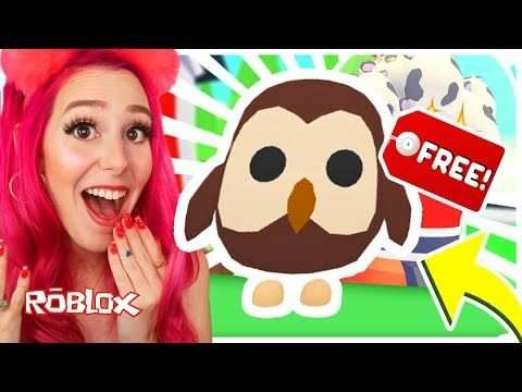 How To Get A Free Legendary Owl Pet In Adopt Me Roblox Adopt Me