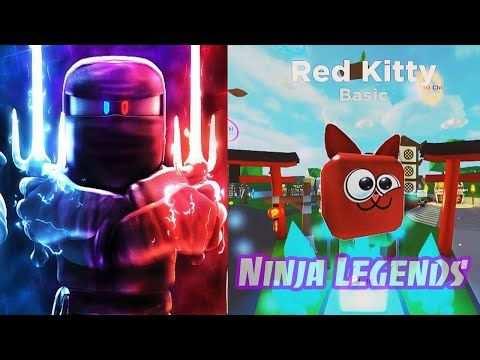 Ninja Legends New Pet Crystal Blue Crystal Unlocked Roblox