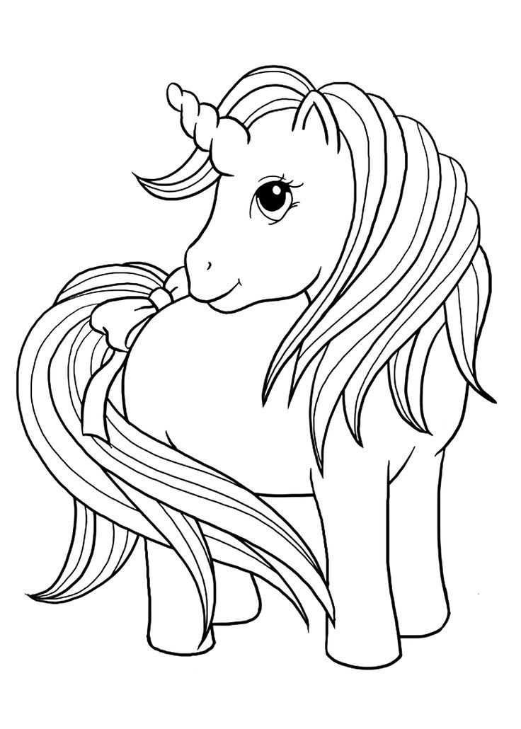 Top 50 Free Printable Unicorn Coloring Pages Online Kleurplaten