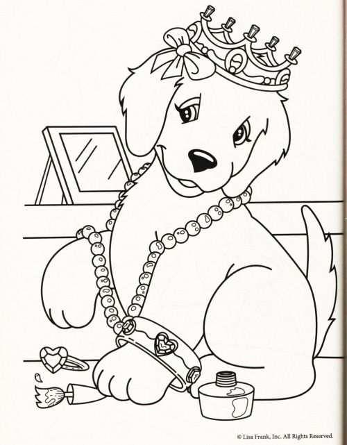 Kleurplaat Hond Kroon Met Afbeeldingen Kleurplaten