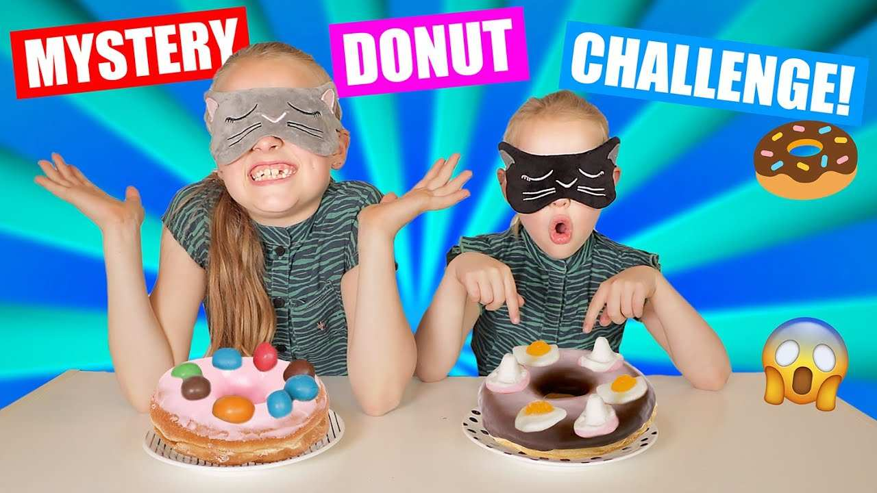 De Geblinddoekte Mystery Donut Challenge Wie Raadt Alle Gekke