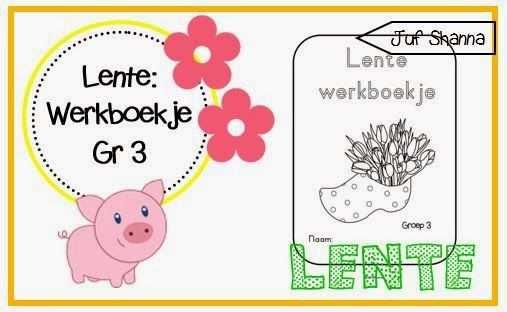 Thema Lente Werkboekje Voor Groep 3 Thema Lesideeen