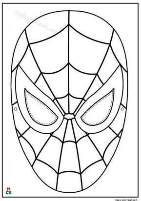 Spiderman Coloring Pages Hero Met Afbeeldingen Superheld