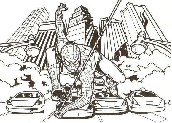 Amazing Spiderman Coloring Pages Kleurplaten