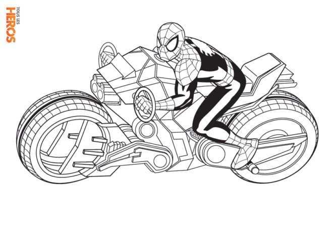 Coloriages Spiderman Gratuits Sur Le Blog De Tous Les Heros Nel
