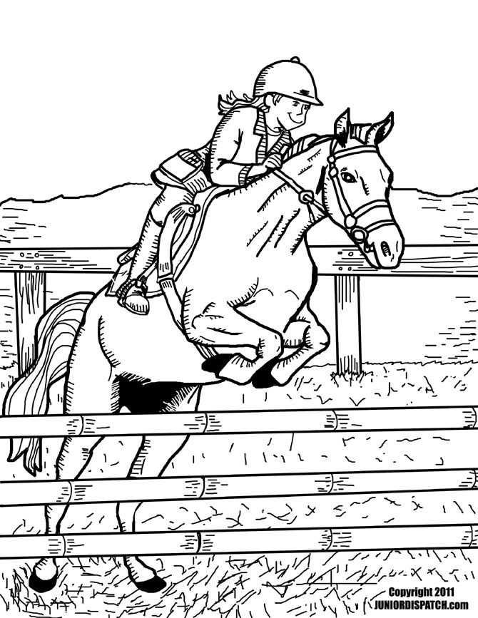 Wie War S Mit Einigen Pferdesport Ausmalbilder An Ihr Patenkind
