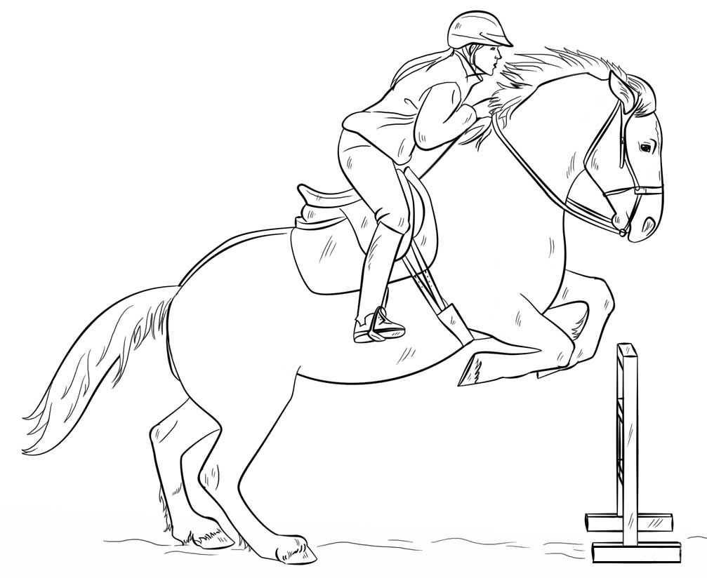 Animals Coloring Pages Horses Coloring Pages Dieren Tekenen