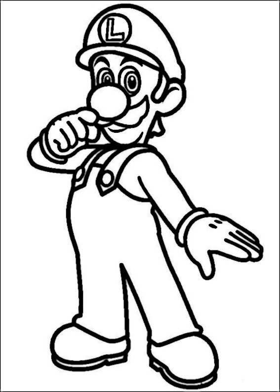 Mario Bross Coloring Pages 25 Com Imagens Irmaos Mario