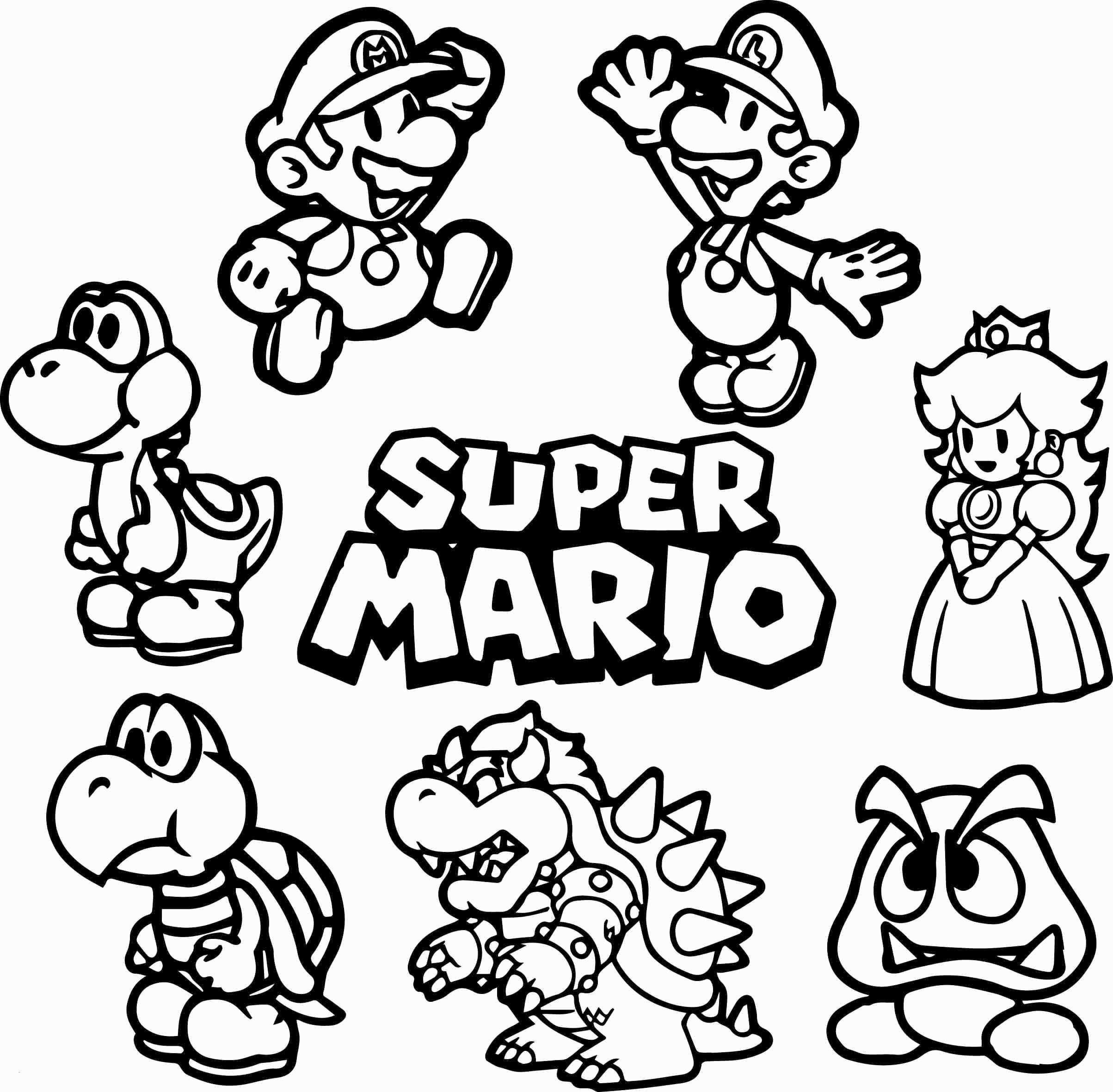 Super Mario Coloring Page Elegant Gallery 37 Super Mario Kart