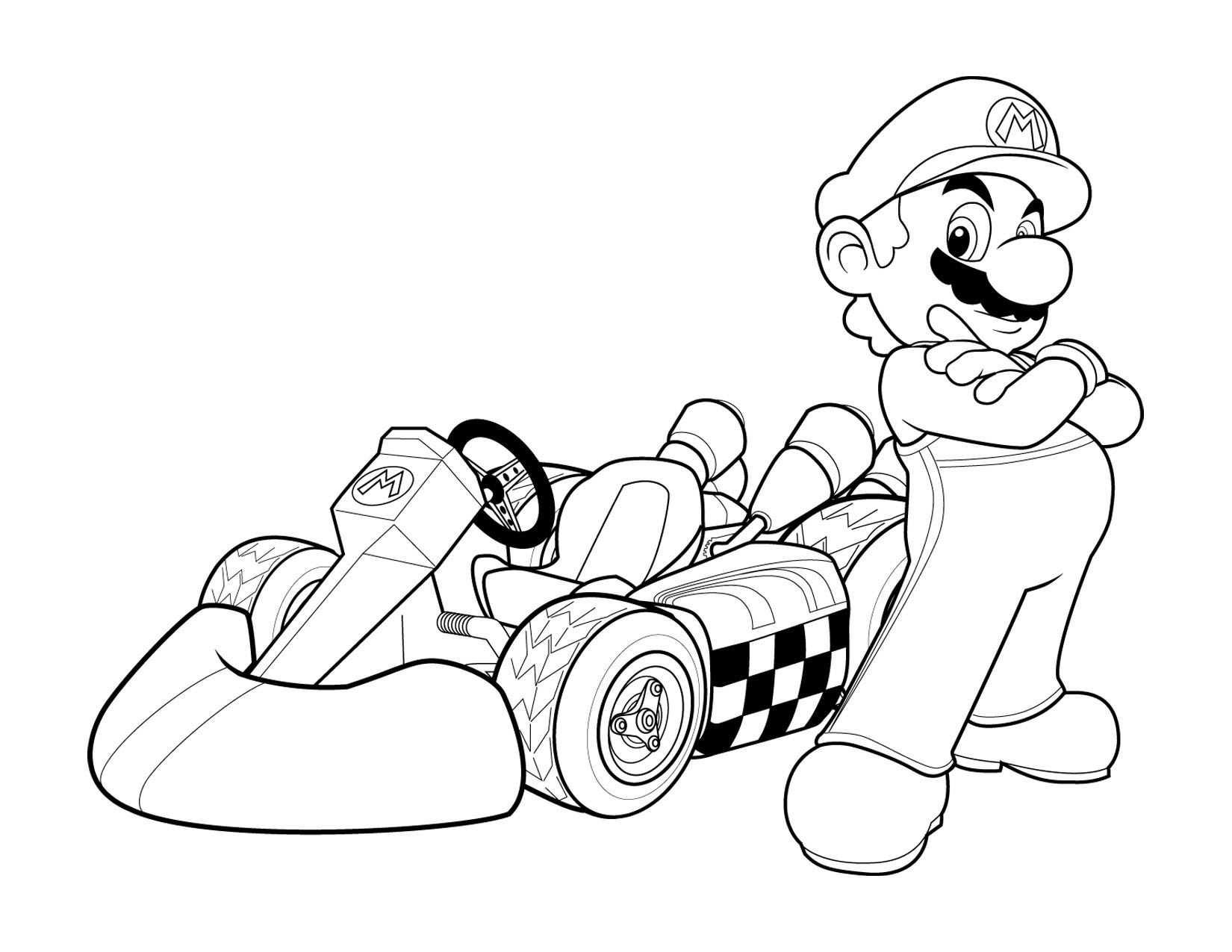 Super Mario Coloring Pages Online Coloriage Mario