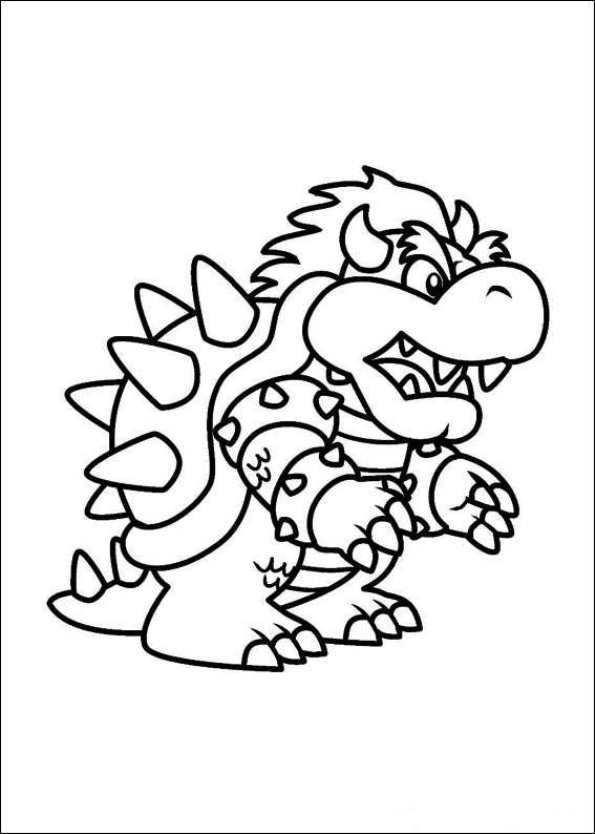 Coloring Page Super Mario Bros Super Mario Bros And Lots More