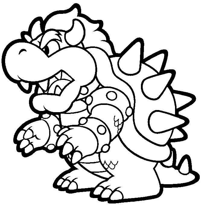 Super Mario Coloring Pages Bing Images With Images Super
