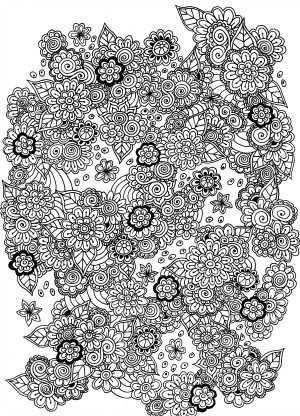Kleurplaten Cats Flowers Met Afbeeldingen Kleurplaten