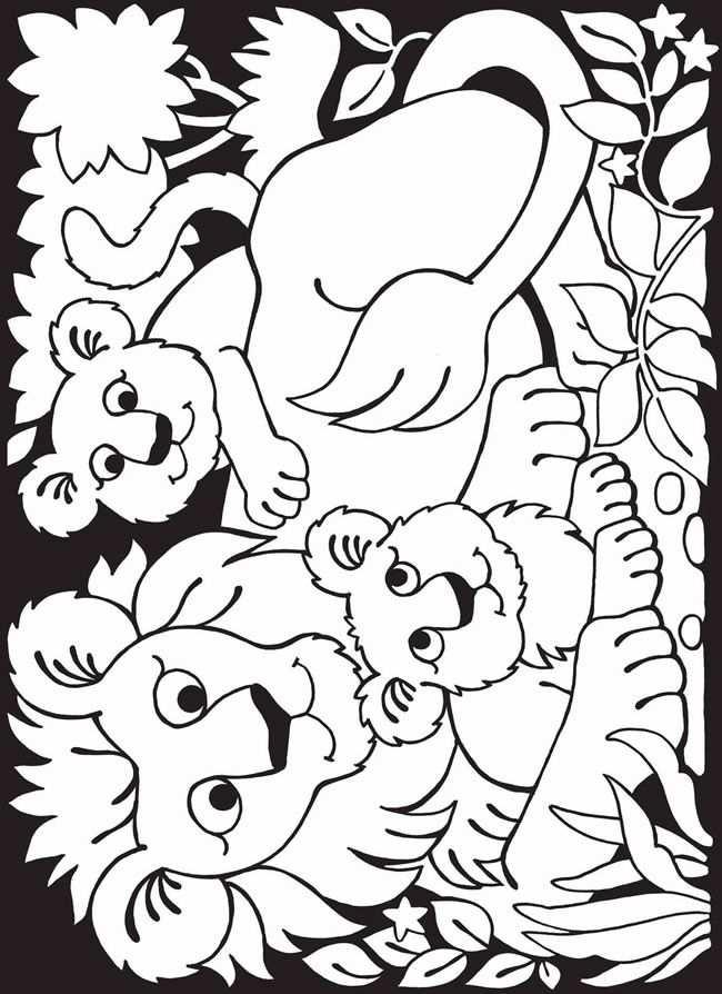 Dierentuin Leeuw Kleurplaten Dieren Kleurplaten Kleurplaten