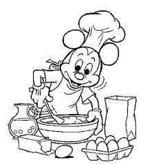Kleurplaat Koken En Bakken Google Zoeken Met Afbeeldingen