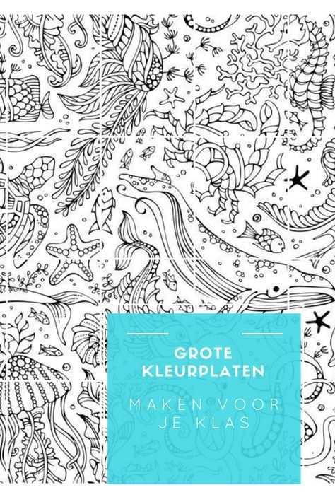 Grote Kleurplaten Maken Voor Je Klas Kleurplaten Zondagsschool