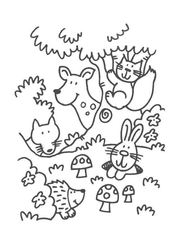 Herfstactiviteiten Thema Herfst Voor Peuters Kleurplaten