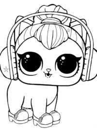 Lol Surprise Kleurplaat10 Topkleurplaat Nl Kitty Coloring Dog