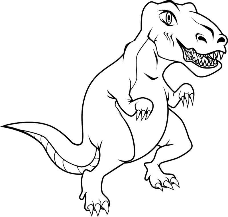 Trex Coloring Pages With Images Dinosaur Coloring Dinosaur