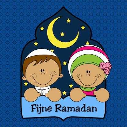 Ramadan Suikerfeest Kaarten Maan Sterren Kinderkaart