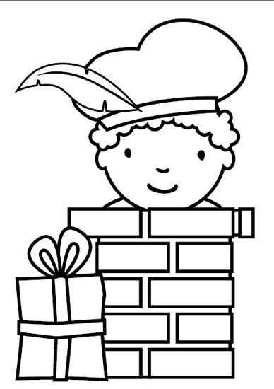 Kleurplaten Pakket Sinterklaasfeest Met Afbeeldingen