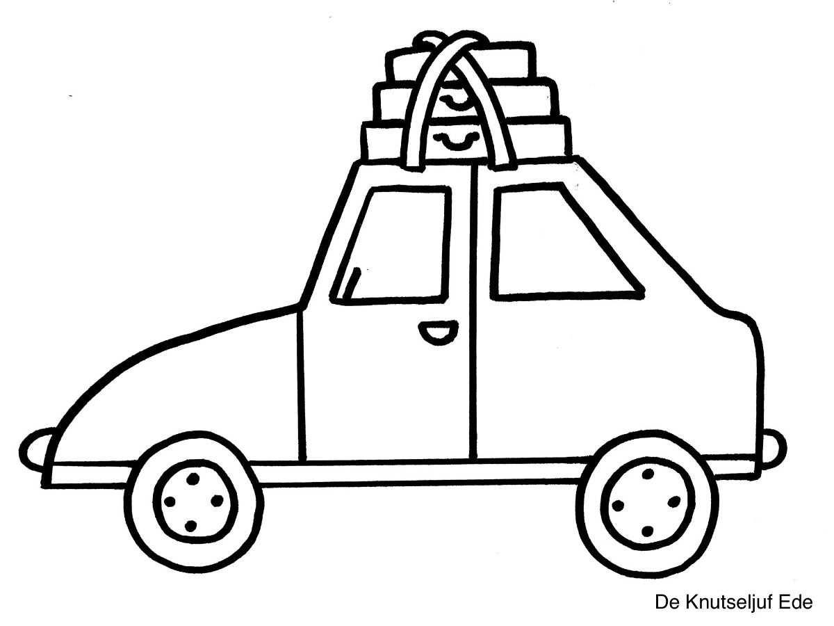 Kleurplaten Vervoer Voertuigen Vervoersmiddelen Vervoer