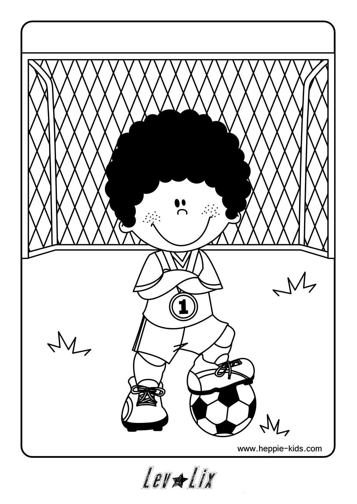 Voetbal Kleurplaat Google Zoeken Kleurplaten Voetbal