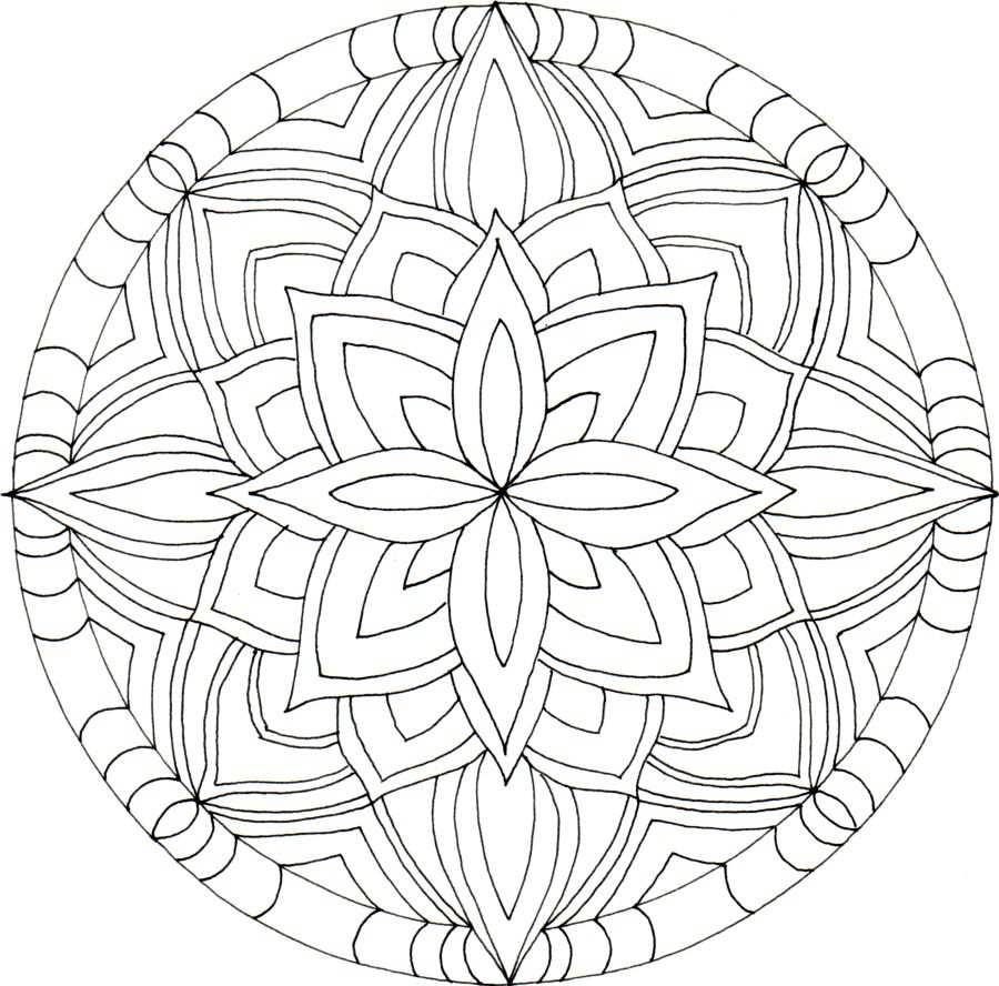 Deze Vorm Is Te Moeilijk Mandala Kleurplaten Kleurplaten