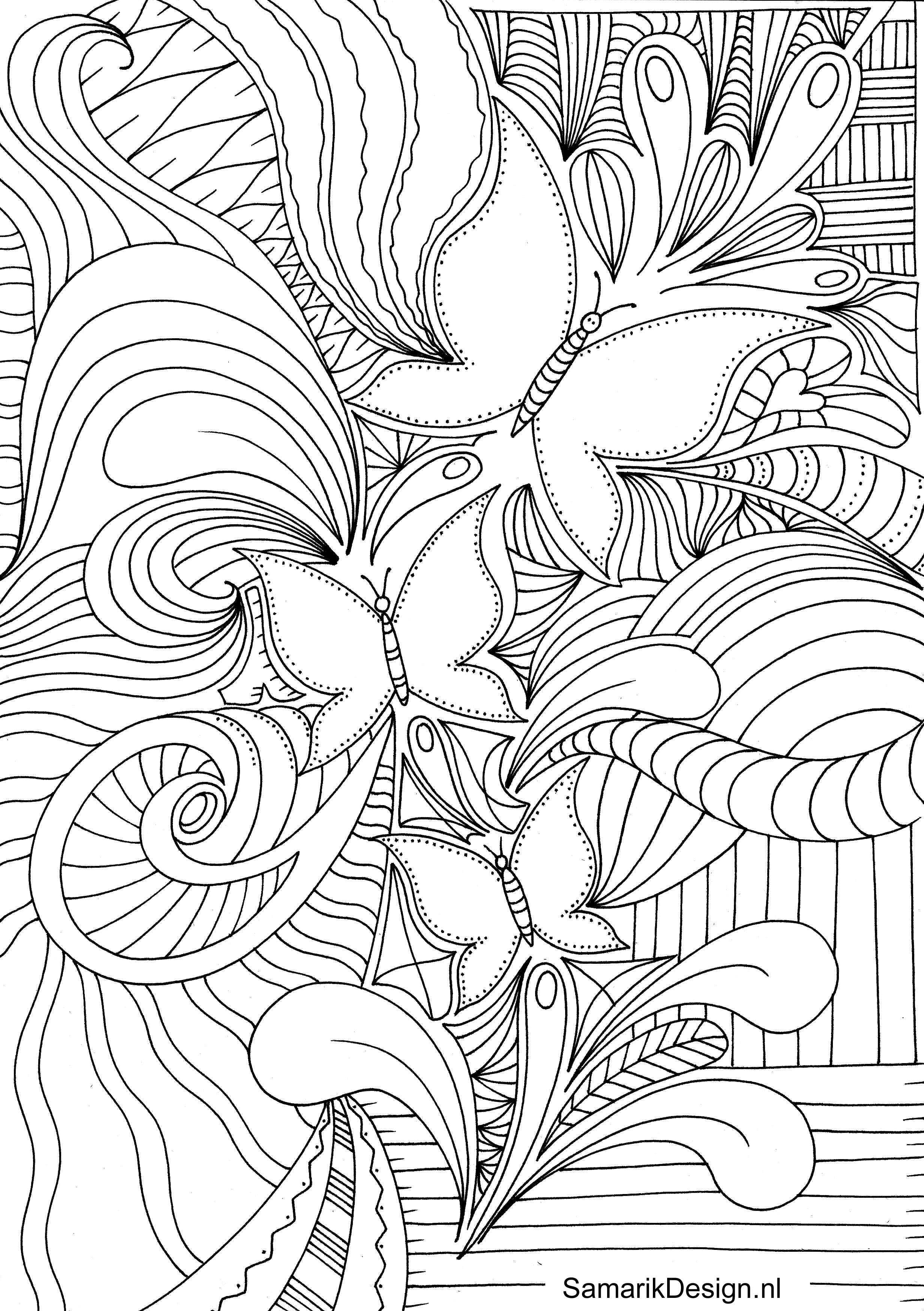 Afbeelding Van Kleurplaten Voor Volwassenen Colouring For Adults