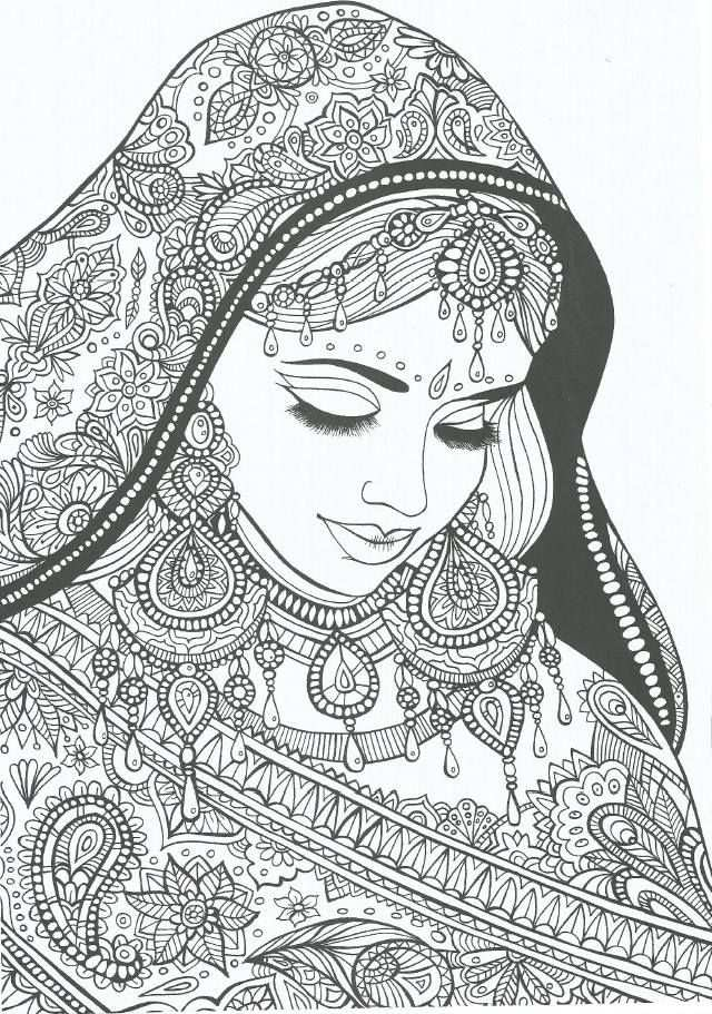 Zigeunervrouw With Images Adult Coloring Pages Coloring Pages
