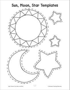 Sun Moon And Stars Activities With Images Moon Activities