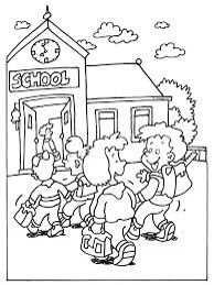 Kleurplaat School Welkom Terug Op School Kleurplaten Knutselen