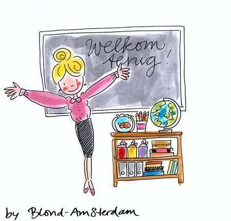 Blond Amsterdam Met Afbeeldingen Welkom Terug Op School Blond