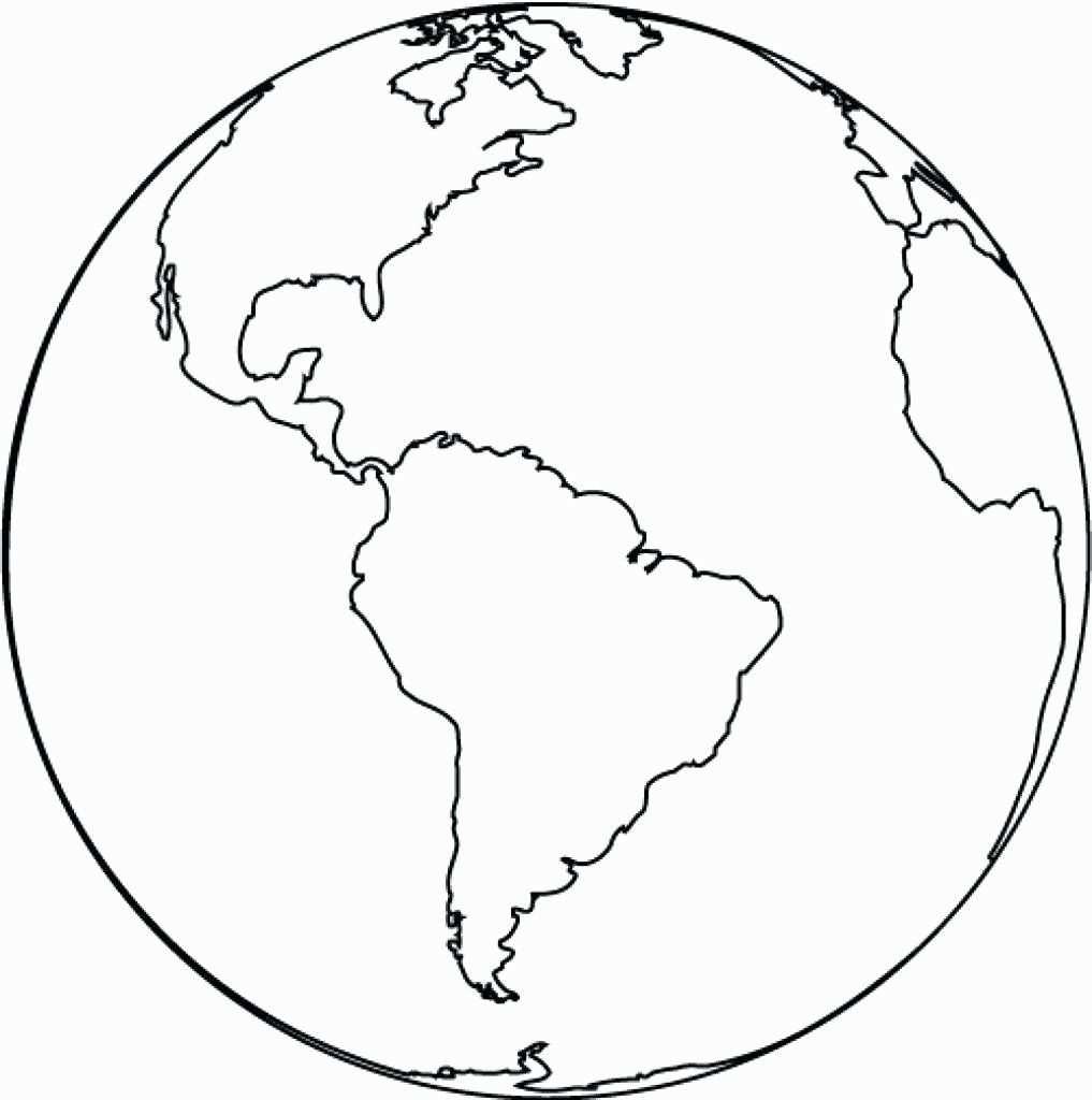 Seven Continents Coloring Page In 2020 Kleurplaten Het Heelal