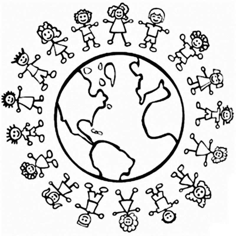 Pin Van Suzanne Snoek Op Thema Wereld Vakantie Kleurplaten