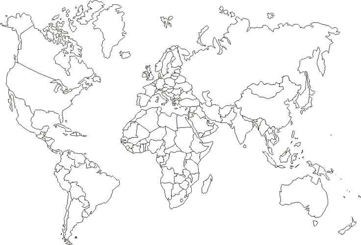 World Map Printable Return To Free Printable Maps Category List