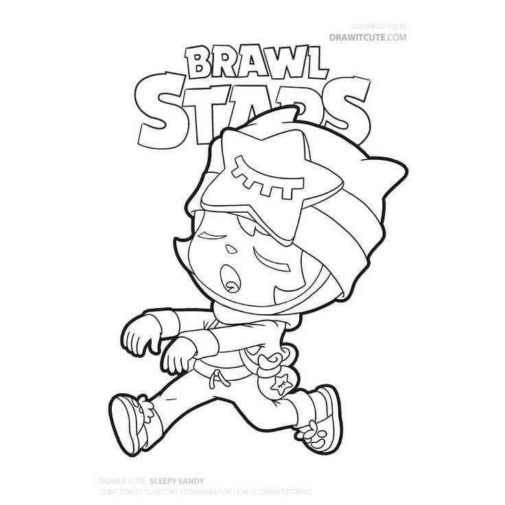 Brawl Stars Printable Coloring Pages Check More At Https Www