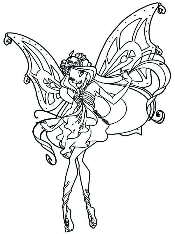 Winx Club Sirenix Coloring Pages Coloring Pages Cartoon