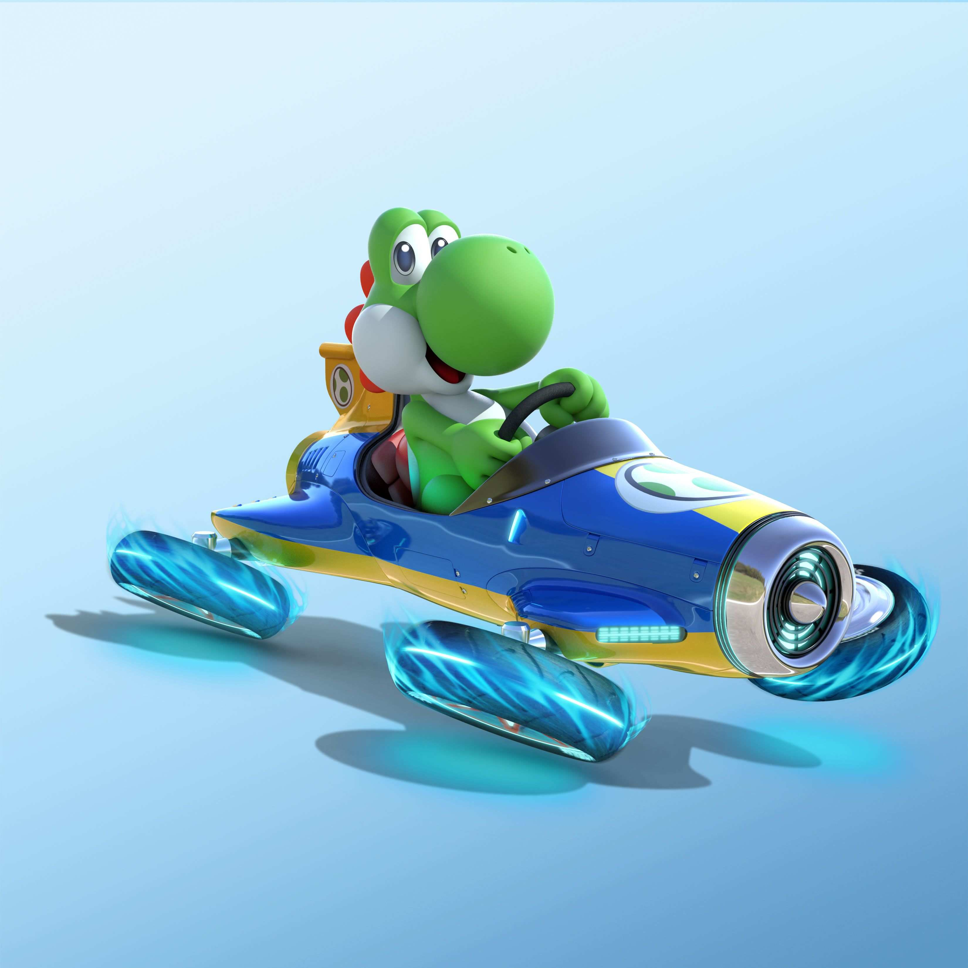 Yoshi Driving Car Who Allowed This With Images Mario Kart 8